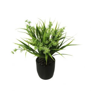 Small & Medium Artificial Plants complete in fiberglass decor pot